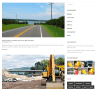 Blog page of Construct theme