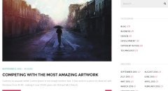 Blog page of The Core theme