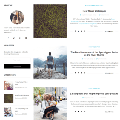 Blogs with left sidebar Page – Ri Twoblog