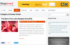 BlogsTrend Drinks Page