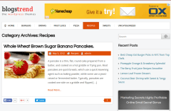 BlogsTrend Recipes Page