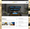 Boxed layout Homepage of Remould theme