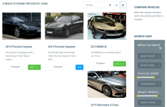Cars Page of Automan