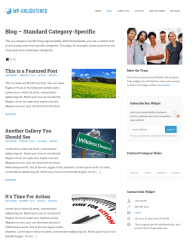 Category Specific Blog  WP-Enlightened