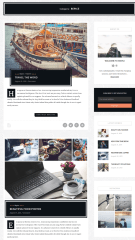 Classic Layout of blogs – Maple