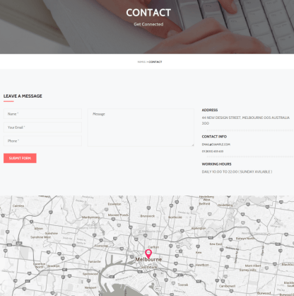 Contact Page - Nimis