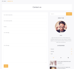 Contact Page – Scrittore