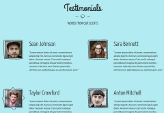 DOODLE Testimonials Page