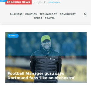Daily Post - WordPress theme for News and Magazines Websites