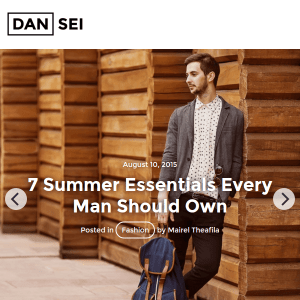 Dansei - Responsive WordPress Blog Theme