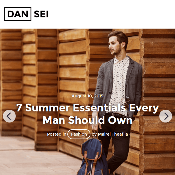 Dansei – Responsive WordPress Blog Theme