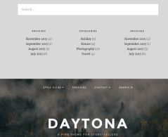 Daytona Search Page