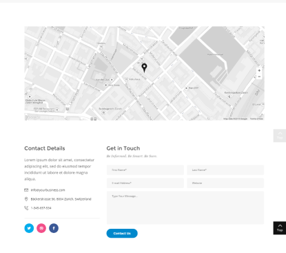 Deploy - Contact page