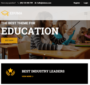 Education WP - Fully Responsive Education WordPress theme