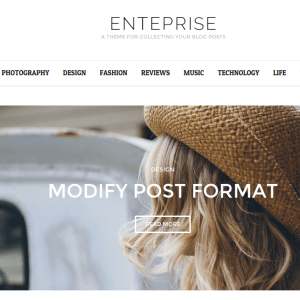 Enterprise Homepage