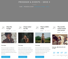 Events Page – DONA