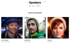 Eventum Speakers Page
