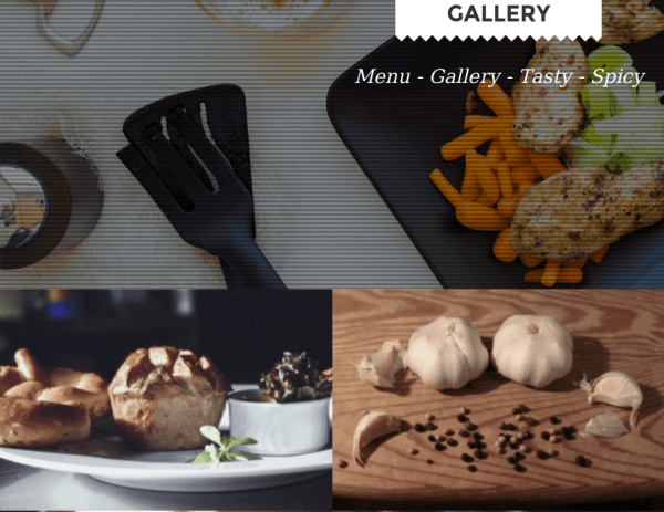 Foodz Gallery Page