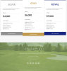 Footer and Prcing Brentwood theme