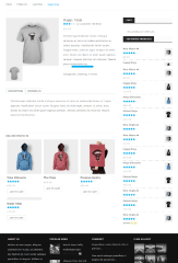GENNEWS – Shop page with product left
