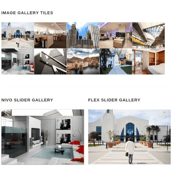 Gallery of Remould theme