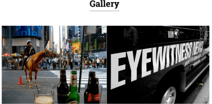 Gallery page of CityNews