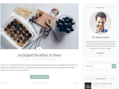 Glimmer - Lifestyle category blog posts