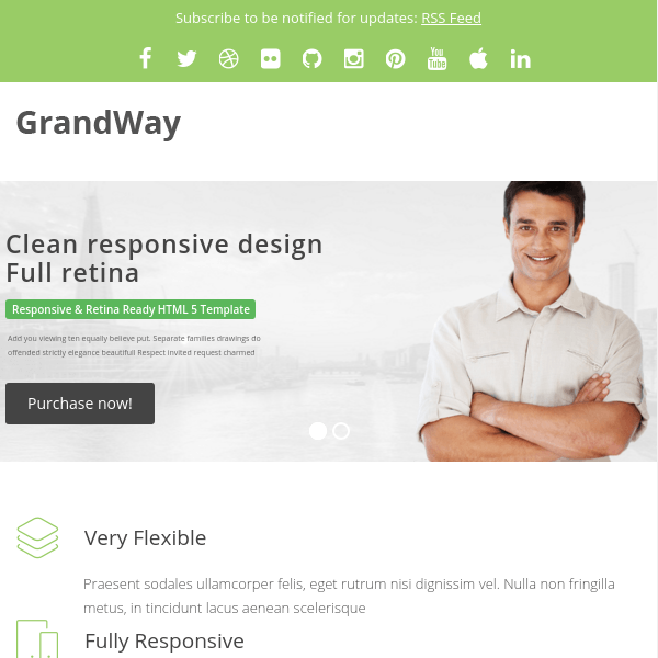 GrandWay – Clean and Professional Theme for WordPress