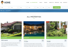 Home Planify All Properties Page