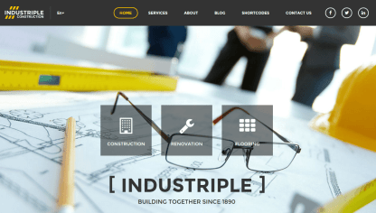 Industriple Home Page