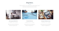 Insurance Agency – Blog page