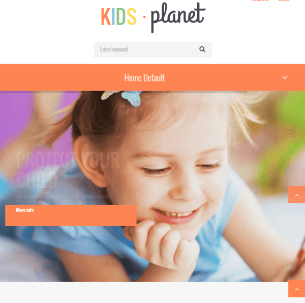 Kids Planet – Multipurpose WordPress theme for childrens.