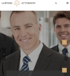 Lawyers Attorneys - WP theme for law firms