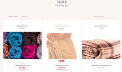 LeCrafts Shop Page