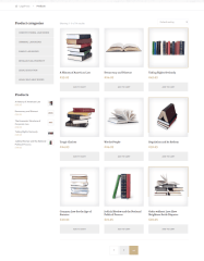 Legal Press – shop page