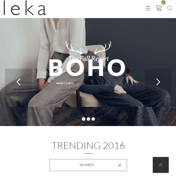 Leka - WooCommerce WordPress theme