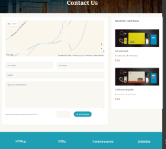 Listing Builder – Contact us