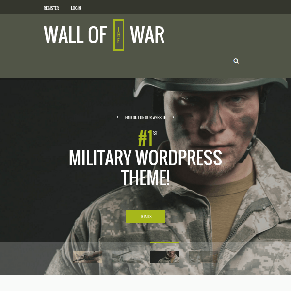 Military, Veterans & Military Service Theme