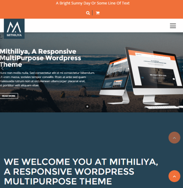 Mithiliya -Responsive Business WP theme