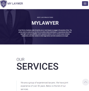 MyLawyer - Lawyer WordPress theme