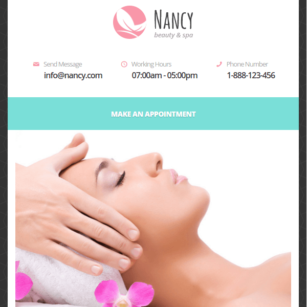 NANCY – Wellness, Spa, Beauty WordPress Theme