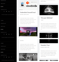NRFfolio theme Blogs