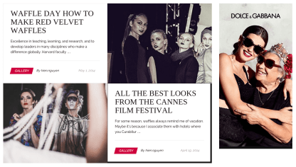 New Fashion Pages