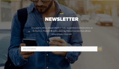 Newsletter Page of Omni