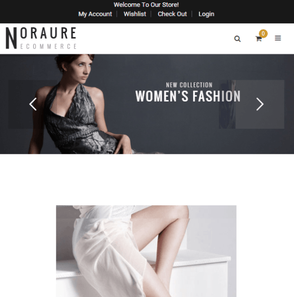 Noraure – WooCommerce WP theme
