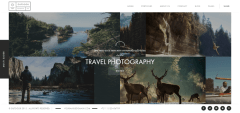 Outdoor – Home page with multiple slider