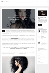 Page with Right sidebar – Comfort