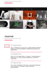 Portfolio of Ignite theme