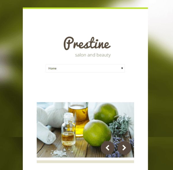 Prestine – Health and Beauty WP theme