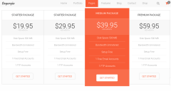 Pricing Table – Engorgio